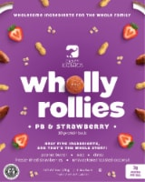 Crazy Richard's PB & Strawberry Wholly Rollies Protein Balls 10 Count