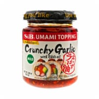 S&B Crunchy Garlic Topping with Chili Oil - 3.9 oz
