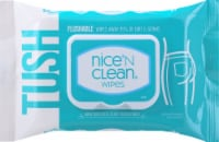 Nice N' Clean Flushable Moist Wipes - 42 ct