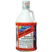 Sno Seal 283722 2 Quart Sport Wash Laundry Detergent