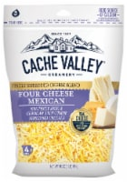 Cache Valley Four Shredded Mexican Cheese Blend