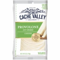 Cache Valley Naturals Provolone Cheese Slices 10 Count