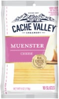 Cache Valley Muenster Cheese Slices