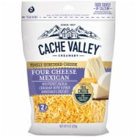 Cache Valley Finely Shredded Four Cheese Mexican Blend Cheese - 8 oz