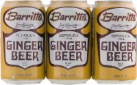 Barritts Ginger Beer 6pk - 6 ct/12 fl oz