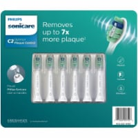 Philips Sonicare Plaque Control Brush Heads (6 Pack) - 1 unit