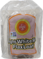 Ener-G Foods Light White Rice Flax Loaf