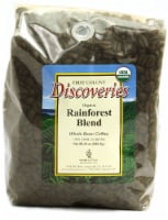 First Colony  Discoveries Organic Whole Bean Coffee   Rainforest Blend