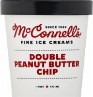 McConnell's Double Peanut Butter Chip Ice Cream - 1 pt