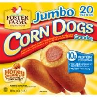 Foter Farms 20 Count Jumbo Corn Dogs
