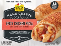 Foster Farms Spicy Chicken Pizza Hand-Rolled Sandwiches