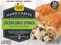 Foster Farms Chicken Garlic Spinach Hand-Rolled Sandwiches