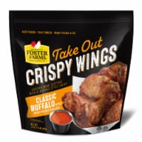 Foster Farms® Take Out Classic Buffalo Style Crispy Chicken Wings - 16 oz