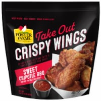 Foster Farms Sweet Chipotle BBQ Take Out Crispy Wings