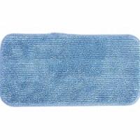Hospeco Mop Pad,Flat,Microfiber,Blue Head,PK12  2504-SPH-MFP-11B