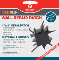 Red Devil® Onetime Metal Wall Repair Patch