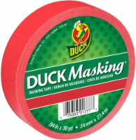 Duck® Duck® Masking® Tape - Red