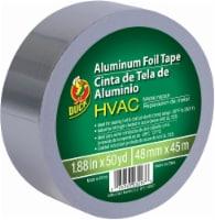 Duck® HVAC Metal Repair Aluminum Foil Tape - Silver