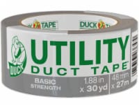 Duck® Basic Strength Utility Duct Tape - Gray