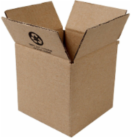 Duck® Kraft Moving and Storage Box - Brown