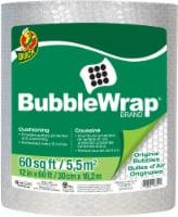 Duck® All-Purpose Bubble Wrap - 12 in x 60 ft