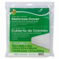 Duck® Plastic Mattress Cover - Clear