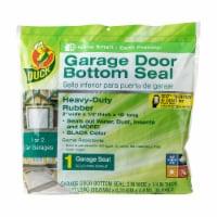 Duck® Wood Garage Door Bottom Seal - Black - 2 in x 1/4 in x 18 ft