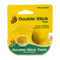 Duck Double-Sided Clear Permanent Tape - .5 x 450 in