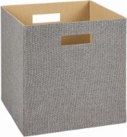 ClosetMaid Decorative Fabric Storage Bin - Gray