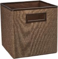 ClosetMaid Decorative Storage Fabric Bin - Toffee