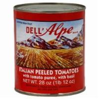 Dell'Alpe Italian Peeled Tomatoes - 28 Oz