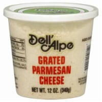 Dell'Alpe Grated Parmesan Cheese - 12 oz