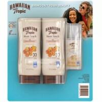 Hawaiian Tropic Face/Body SPF 30 Sunscreen (8 fl oz 2 pk + Bonus 1.7 fl oz) - 1 unit