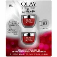 Olay Regenerist Whip Face Moisturizer, Primer and SPF 25, 1.7 Ounce (2 Pack) - 1 unit