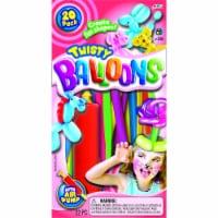 JA-RU Twisty Fun Balloons & Air Pump