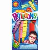 JA-RU Rocket Balloons with Pump