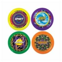 Ja-Ru 1033 Assorted Plastic Frisbee Flying Disc - pack of 24