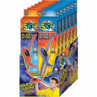 Ja-Ru 9061552 Radical Sky Foam Glider, Assorted Color - Pack of 12