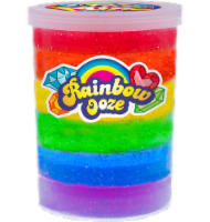 JA-RU Rainbow Ooze Glitter Putty Toy