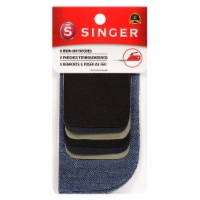 SINGER® Iron-On Patches - 8 pc