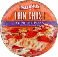 Palermo's Thin Crust Supreme Pizza