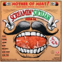 Screamin' Sicilian Mother of Meats Pizza
