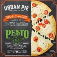 Urban Pie Pizza Co. Thin Artisan Crust Pesto Fresh Mozzarella Pizza