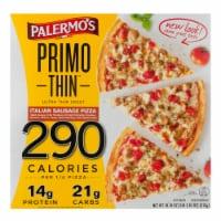 Palermo's Primo Thin Italian Sausage Pizza