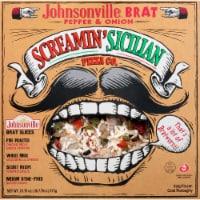 Screamin' Sicilian Johnsonville Brat Pepper & Onion Frozen Pizza