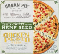 Urban Pie Pizza Co. Thin Crust Hemp Seed Chicken Pesto Pizza