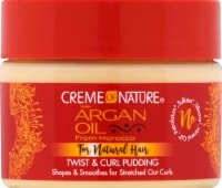 Creme of Nature Argan Oil For Natural Hair Twist & Curl Pudding - 11.5 oz