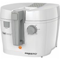 Cool Daddy White 6 cup Deep Fryer - Case Of: 1;