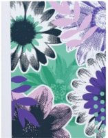 Top Flight Floral Print Composition Book - Assorted