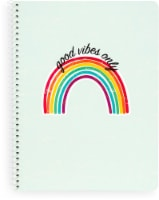 Top Flight Uptown Girl Wide Ruled 1-Subject Notebook - Assorted
